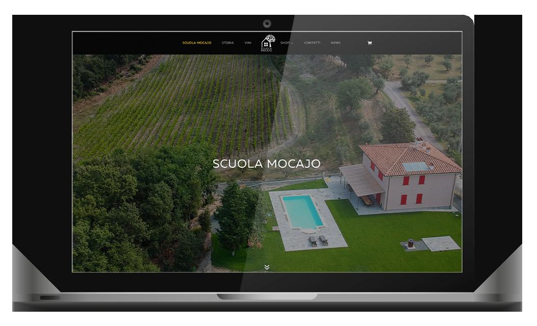 scuola mocajo vini produzione sito internet agenzia web agency roma italia nabla