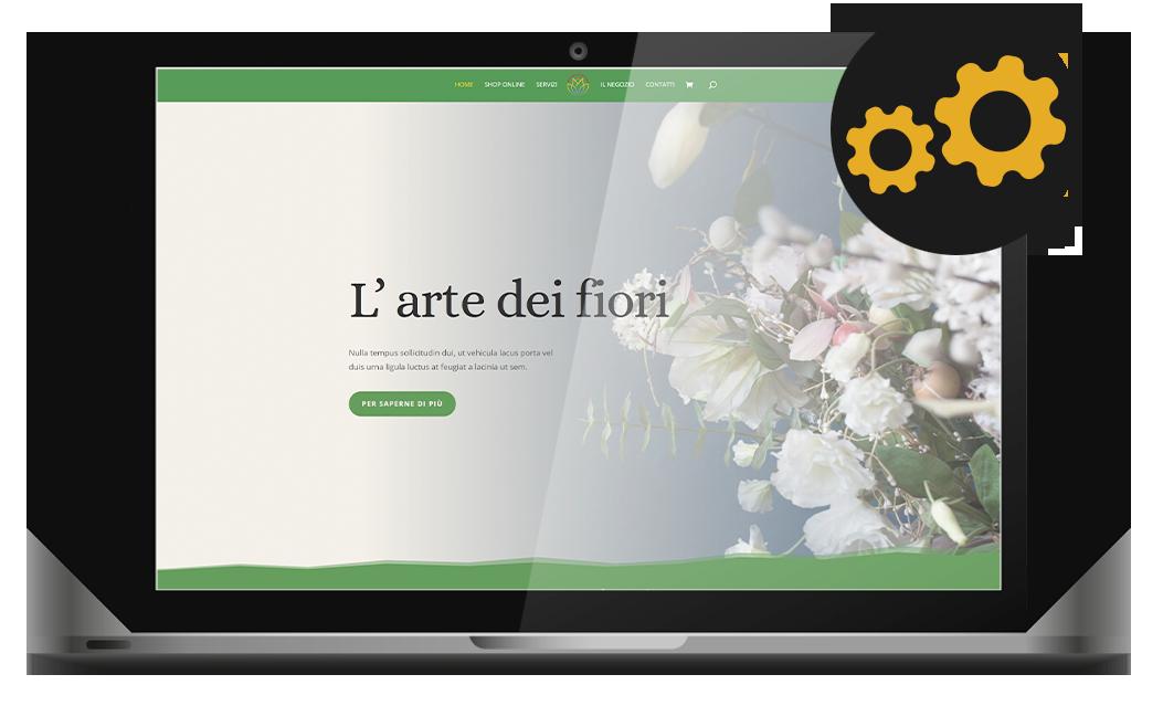 Immediately at home sito internet agenzia web agency roma italia nabla